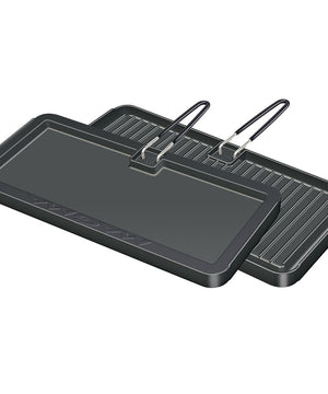 "Magma 2 Sided Non-Stick Griddle 8"" x 17"" [A10-195]"