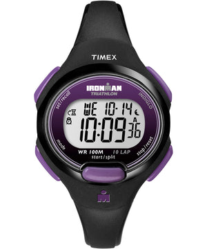 Timex IRONMAN 10-Lap Watch - Mid-Size - Purple/Black [T5K523JV]