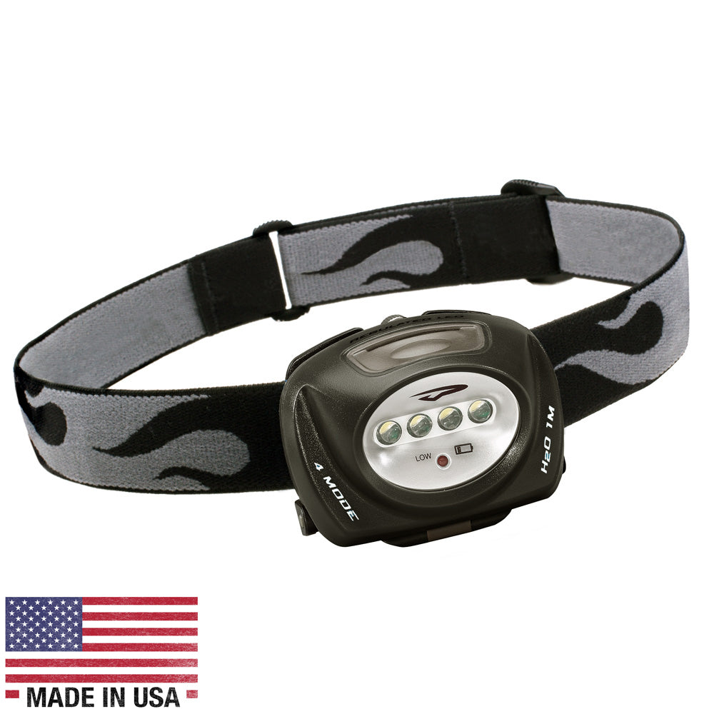 Princeton Tec QUAD LED Headlamp - Black [QUAD-BK]
