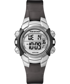 Timex Marathon Digital Mid-Size Watch - Black/Silver [T5K805]