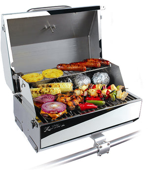 "Kuuma Elite 216 Gas Grill - 216"" Cooking Surface - Stainless Steel [58155]"