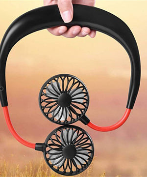 Wearable Neckband Fan