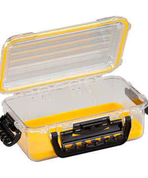 Plano Waterproof Polycarbonate Storage Box - 3600 Size - Yellow/Clear [146000]
