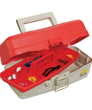 Plano Take Me Fishing Tackle Kit Box - Red/Beige [500000]