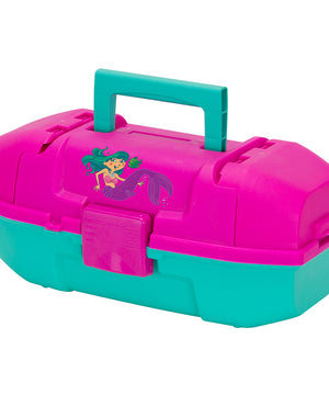 Plano Youth Mermaid Tackle Box - Pink/Turquoise [500102]