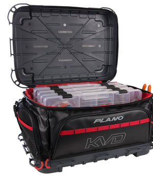 Plano KVD Signature Tackle Bag 3700 - Black/Grey/Red [PLAB37700]