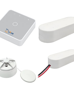 Glomex ZigBoat Starter Kit System - Gateway, Battery, Door/Porthold  Flood Sensor [ZB101]