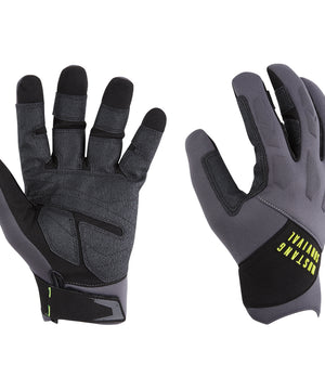 Mustang EP 3250 Full Finger Gloves - X-Large - Grey/Black [MA6005/02-XL-262]