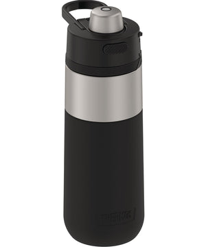 Thermos Guardian Collection Stainless Steel Hydration Bottle - 18oz - Hot 5 Hours/Cold 14 Hours - Stainless Steel  Black [TS4309MS4]