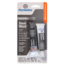 Permatex - Steel Weld Epoxy - GREY - 1oz [84209]
