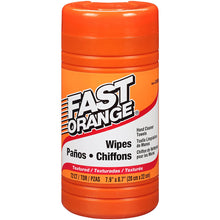 Permatex Fast Orange Heavy Duty Hand Cleaner Wipes - 72-Piece [25051]