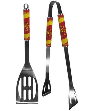 Iowa St. Cyclones 2 pc Steel BBQ Tool Set