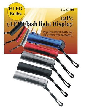 ONE 9 Bulb METAL Led Flashlight
