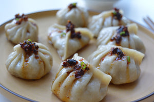 Pork & shiitake dumplings (20)