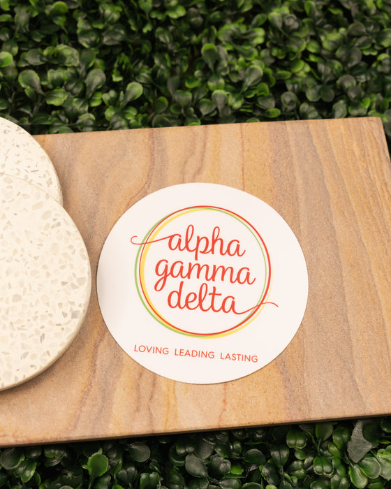 Alpha Gamma Delta Sticker