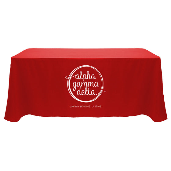 Alpha Gamma Delta Tablecloth
