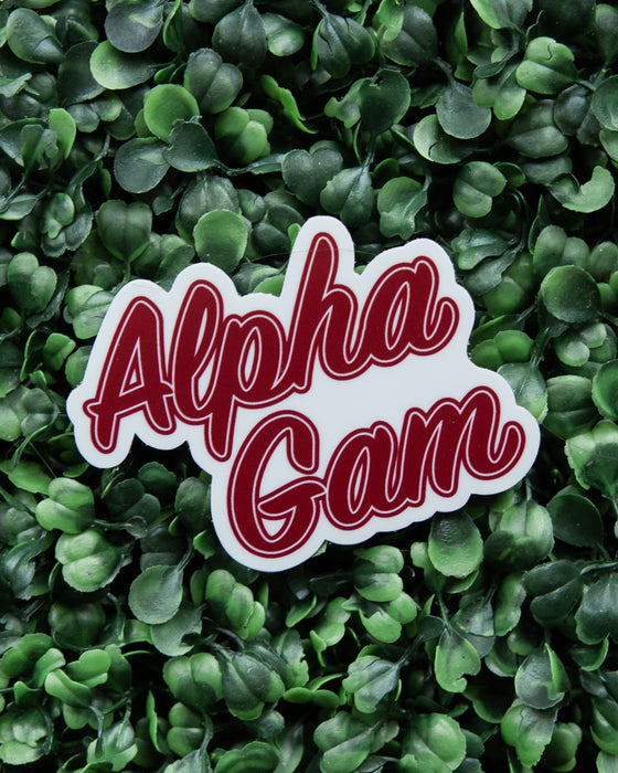 Team Alpha Gam Sticker
