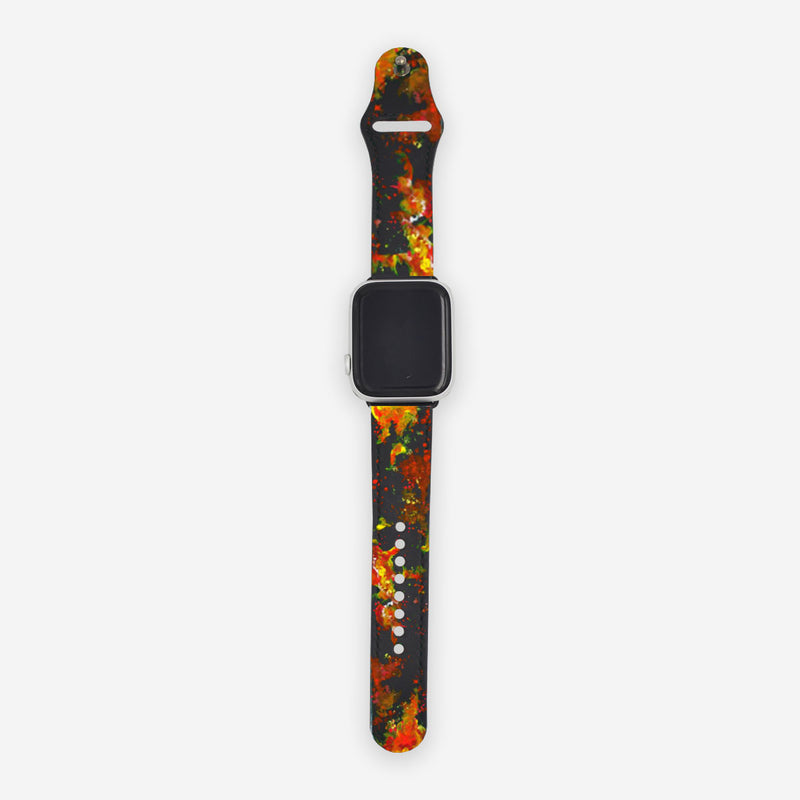 Customized Apple Watch Fire Element