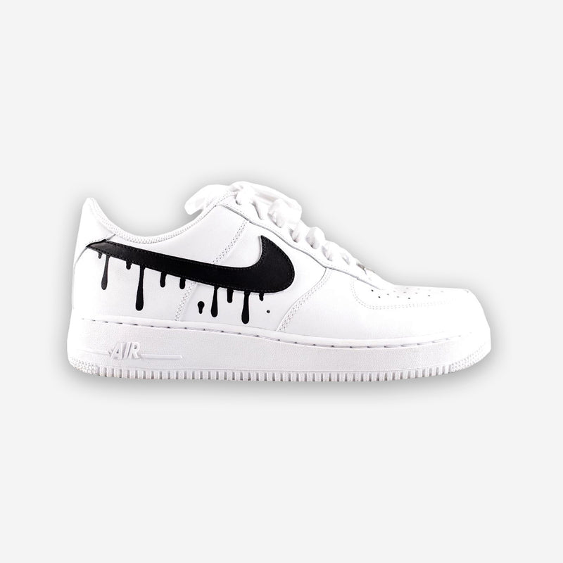 Customized Air Force 1 Drip Swoosh