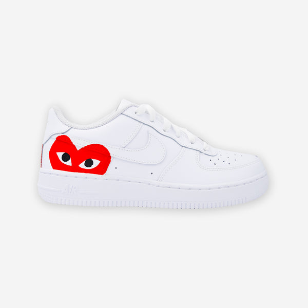 Customized Air Force 1 CDG