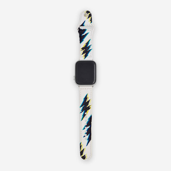 Customized Apple Watch Band White No Signal