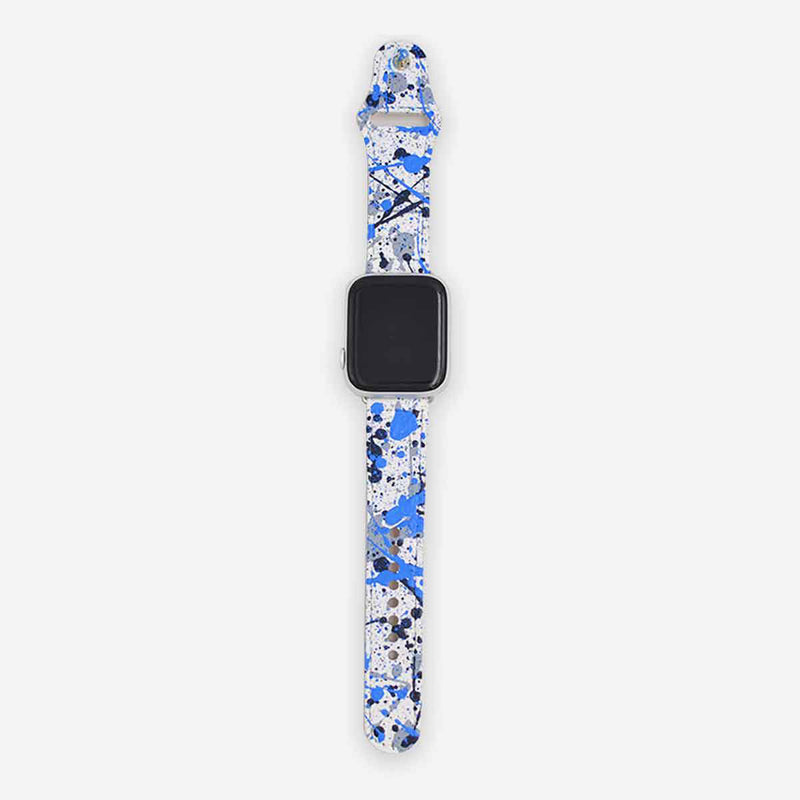 Customized Apple Watch Band Paint Splash