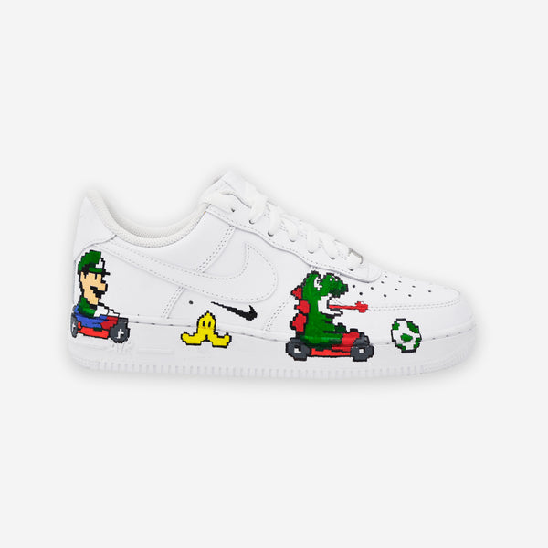 Customized Air Force 1 Mario Bros