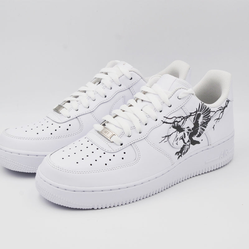 Customized Air Force 1 Reflective Eagle