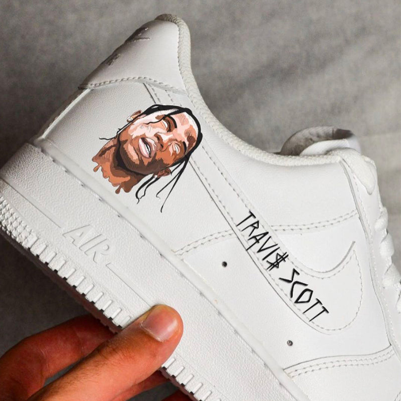 Customized Air Force 1 Travis Design