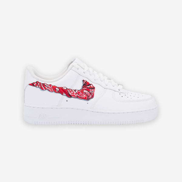 Customized Air Force 1 Bandana Swoosh