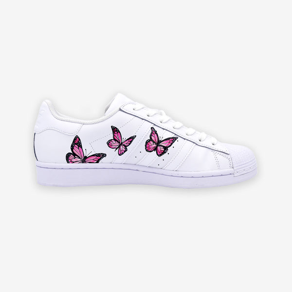 Customized Superstar Pink Butterfly