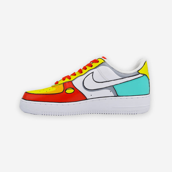 Customized Air Force 1 Lebron 6 x Stewie