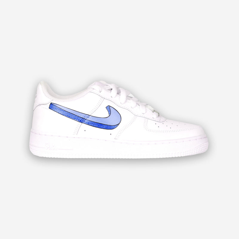 Customized Air Force 1 3D Swoosh