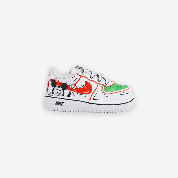 Kids Air Force 1 Mickey Mouse