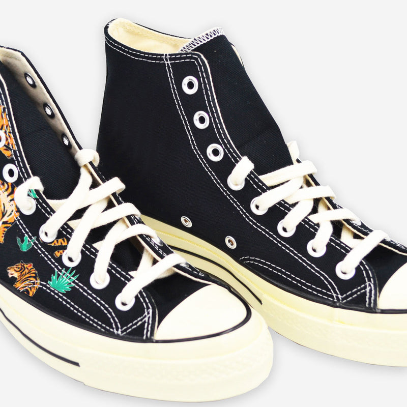 Customized Chuck Taylor Tigers