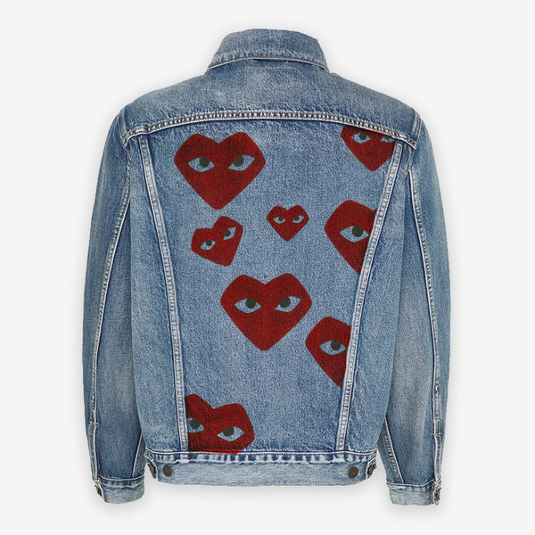Customized Levi's Vintage Jacket CDG