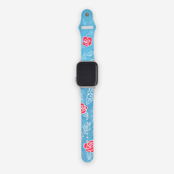 Customized Apple Watch Band Rosalia Roses