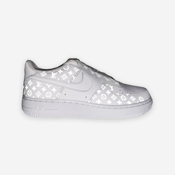 Customized Air Force 1 Reflective Logos