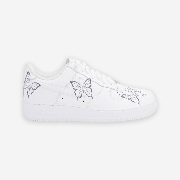 Customized Air Force 1 Reflective Butterfly