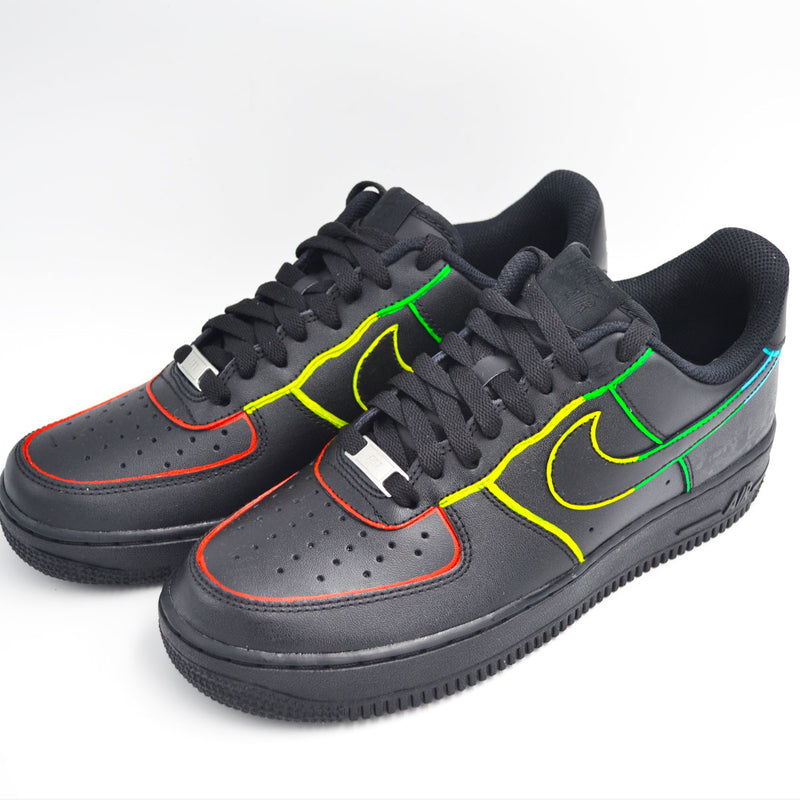 Customized Air Force 1 Color Sketched