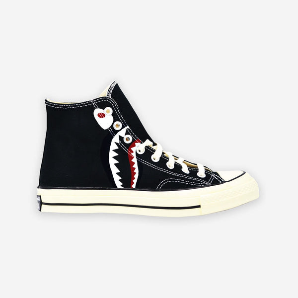Customized Chuck Taylor 70 Shark