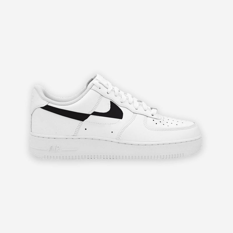 Customized Air Force 1 Broken Swoosh
