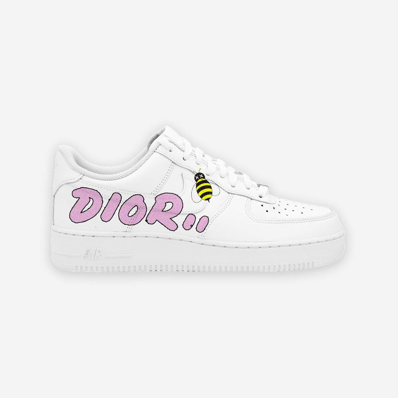 Customized Air Force 1 Dior Ape