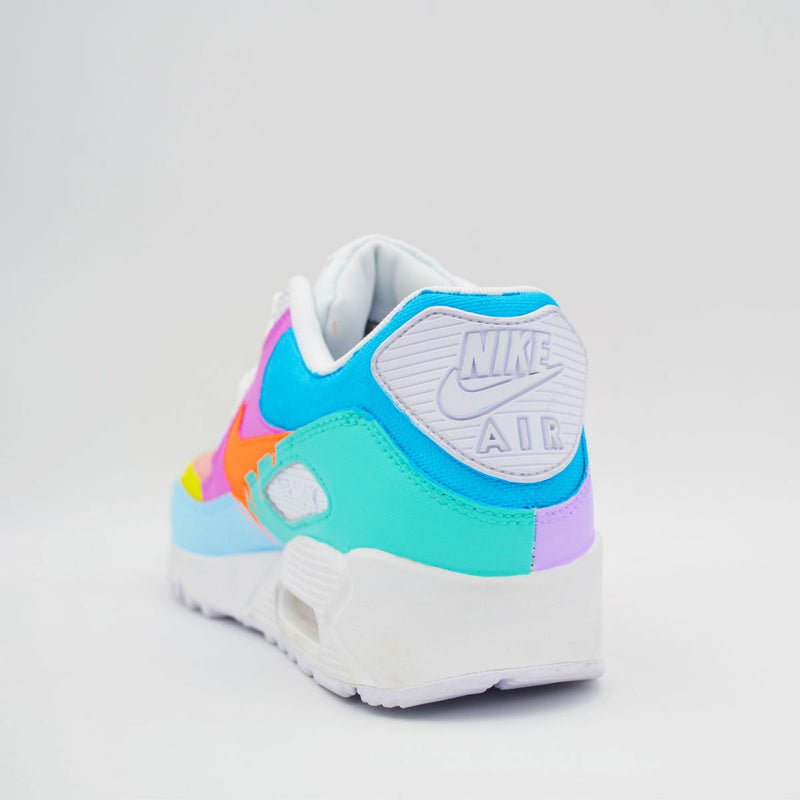 Customized Air Max 90 Multicolor Drip