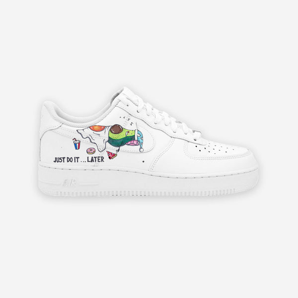 Customized Air Force 1 Now or Later