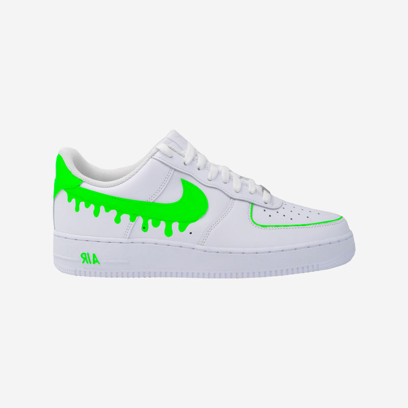 Customized Air Force 1 Fluo Drip