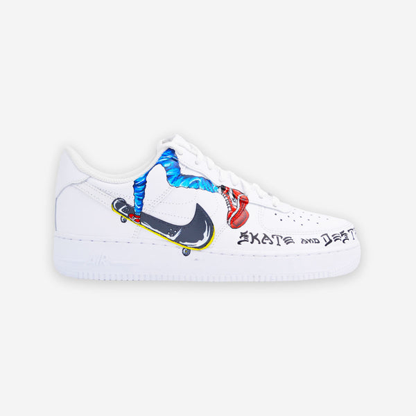 Customized Air Force 1 Skate & Destroy