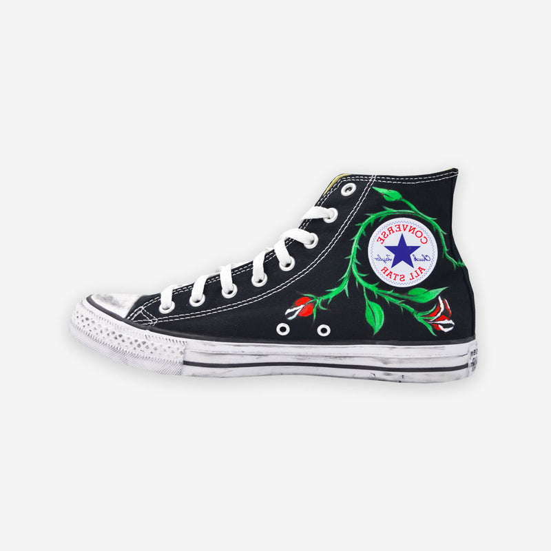 Customized Chuck Taylor 70 Skool Roses