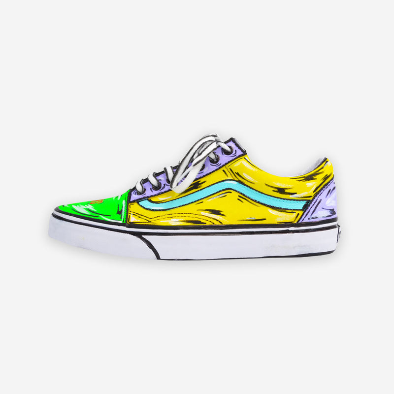 Customized Old Skool Cartoon Sketched