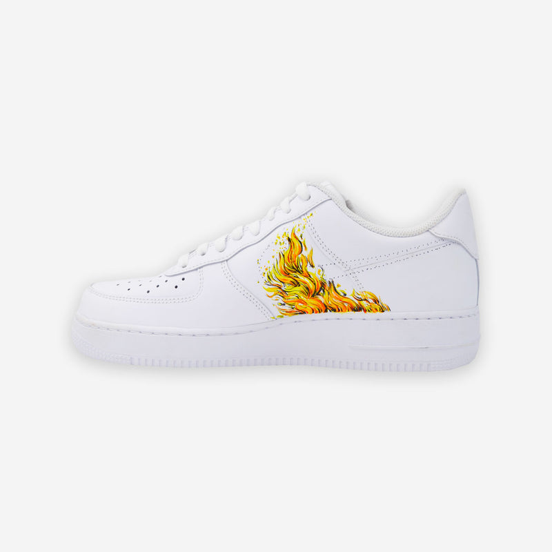 Customized Air Force 1 Flame Element